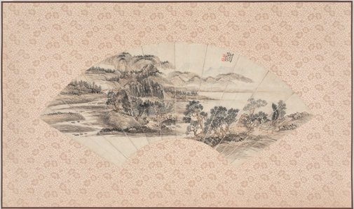 An image of Landscape by Wu Xizeng