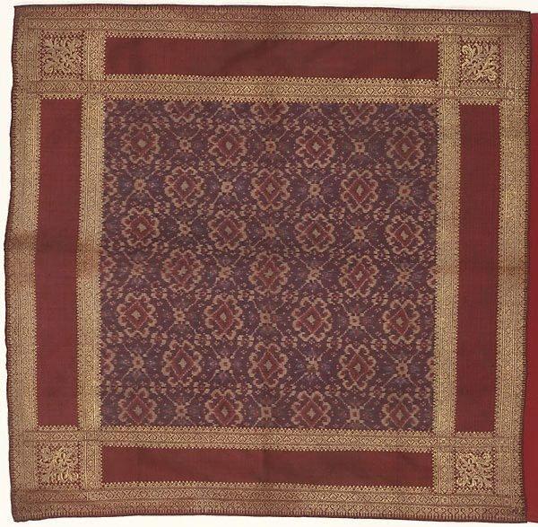 An image of Men's headcloth ('ikat kepala'; 'tengkuluk')