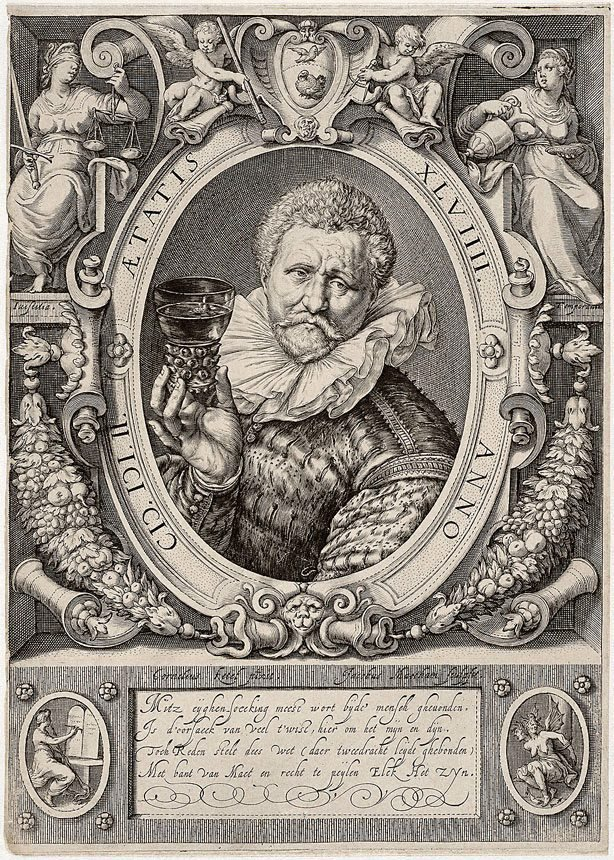 An image of Vincent Jacobsz., gauger and wine-merchant in Amsterdam