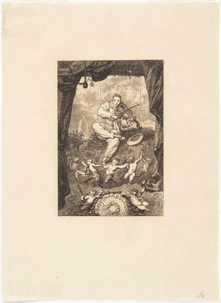 An image of Grotesque odes by Félix Bracquemond