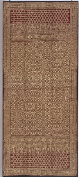 An image of 'kain songket' shouldercloth, skirtcloth by