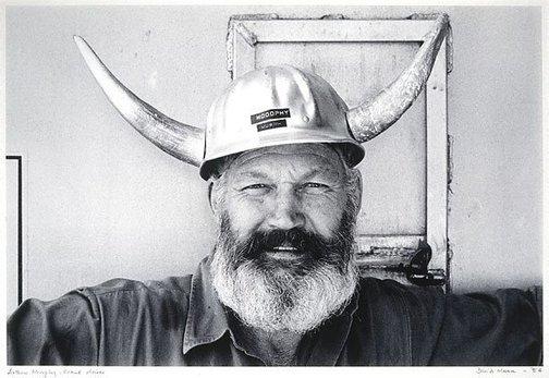 An image of Arthur Murphy, crane driver by David Moore