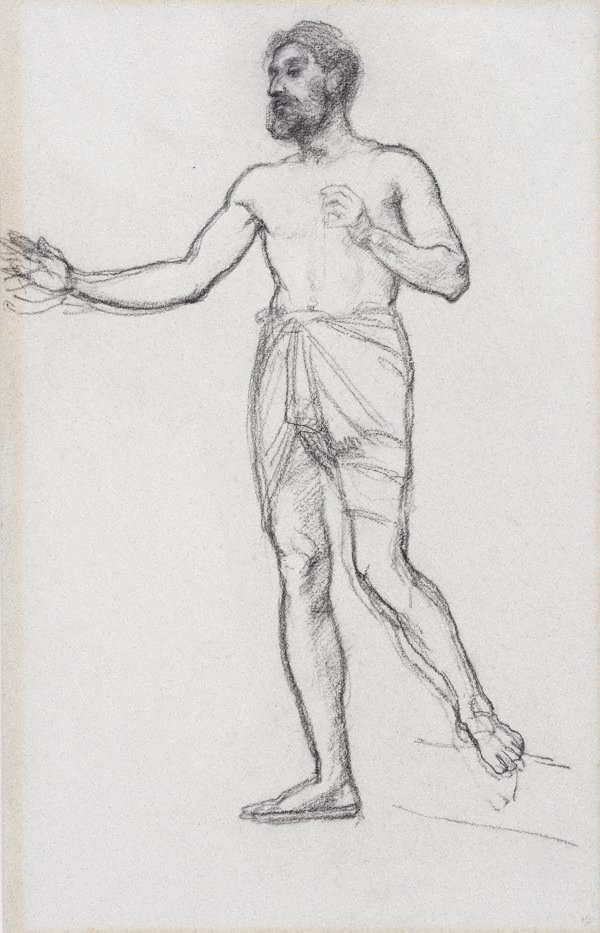 An image of Study for King Solomon
