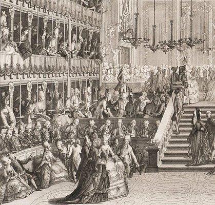 Alternate image of Performance for the Grand Duke of Russia by Antonio Baratti, after Giovanni Battista Canal Belluno