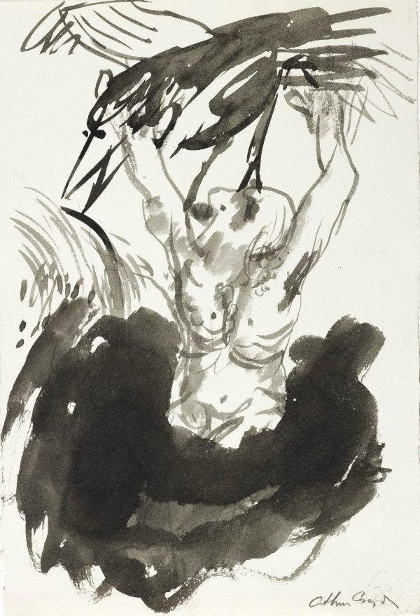 An image of (Illustration for 'Jonah' p.53)