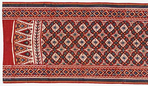 An image of Indian trade cloth by