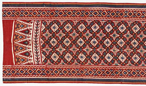 An image of Indian trade cloth