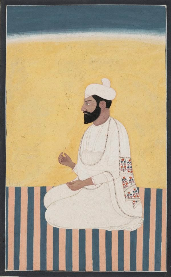 An image of Portrait of Sikh prince
