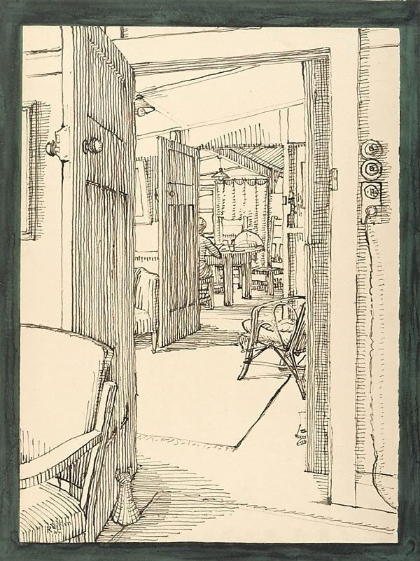 An image of Looking through (interior, Mona Vale)