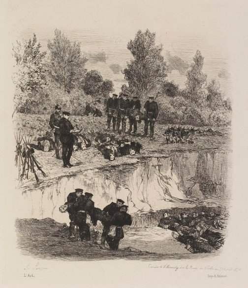 An image of The quarry at Villemonty by Auguste Lançon