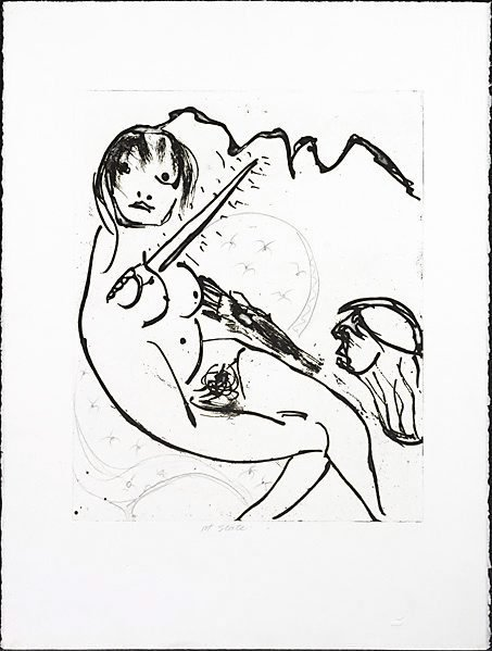 An image of Helen and Agamemnon by Arthur Boyd