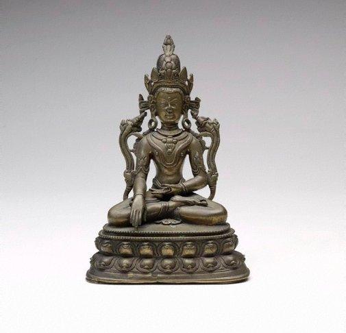 An image of Vajrasattva by