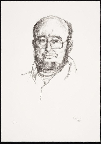 An image of Thomas Keneally by Judy Cassab