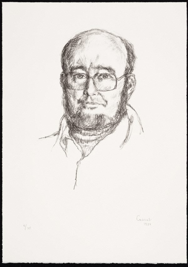 An image of Thomas Keneally