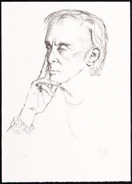An image of Sir Robert Helpmann by Judy Cassab