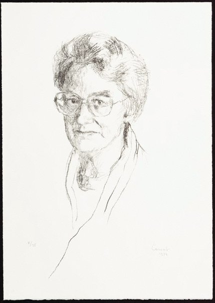 An image of Judith Wright by Judy Cassab