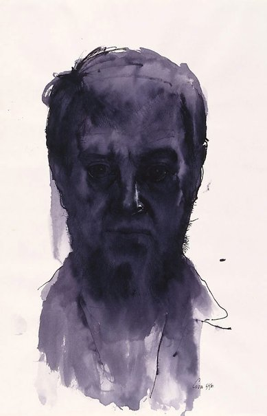 An image of Self portrait by Fred Cress