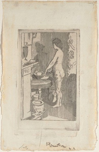 An image of Sally by Walter Richard Sickert