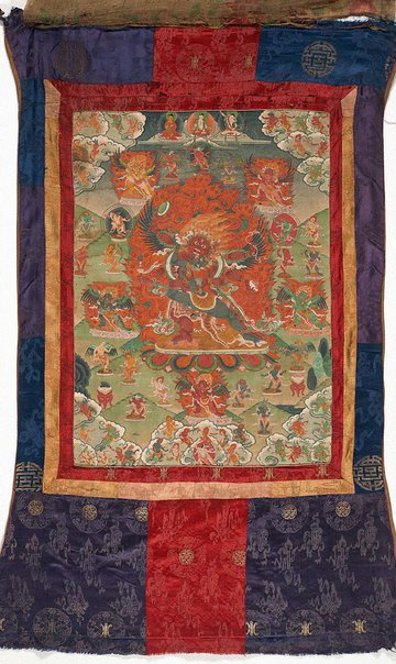 An image of Heruka and a partner by