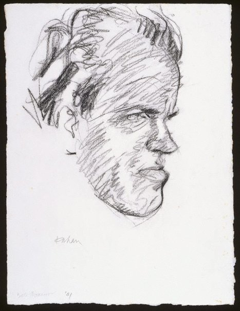 An image of Robert Dickerson by Louis Kahan