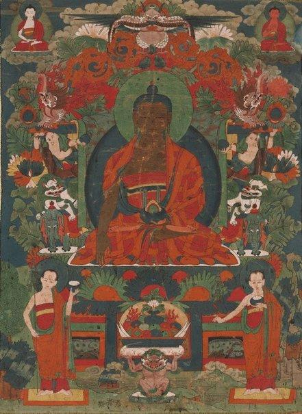 An image of Shakyamuni Buddha by