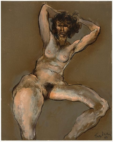 An image of Nude by Albert Tucker