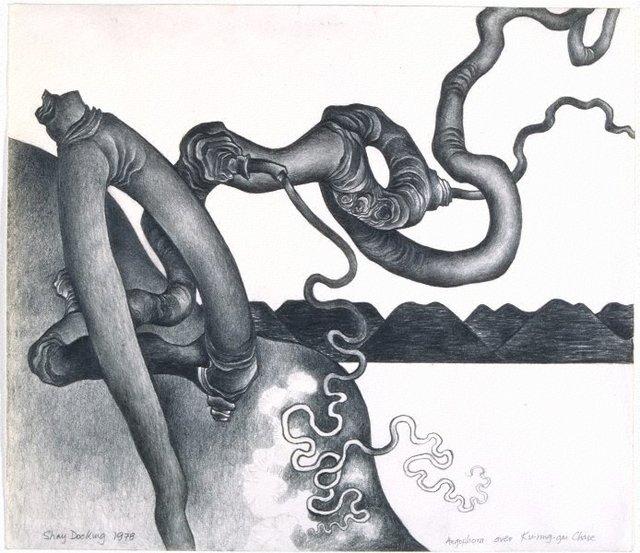 An image of Angophora over Ku-ring-gai Chase