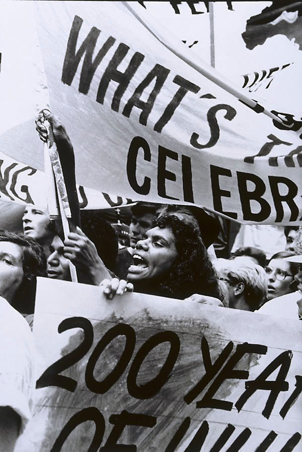 An image of Demonstration, Opening Bicentennial, NSW
