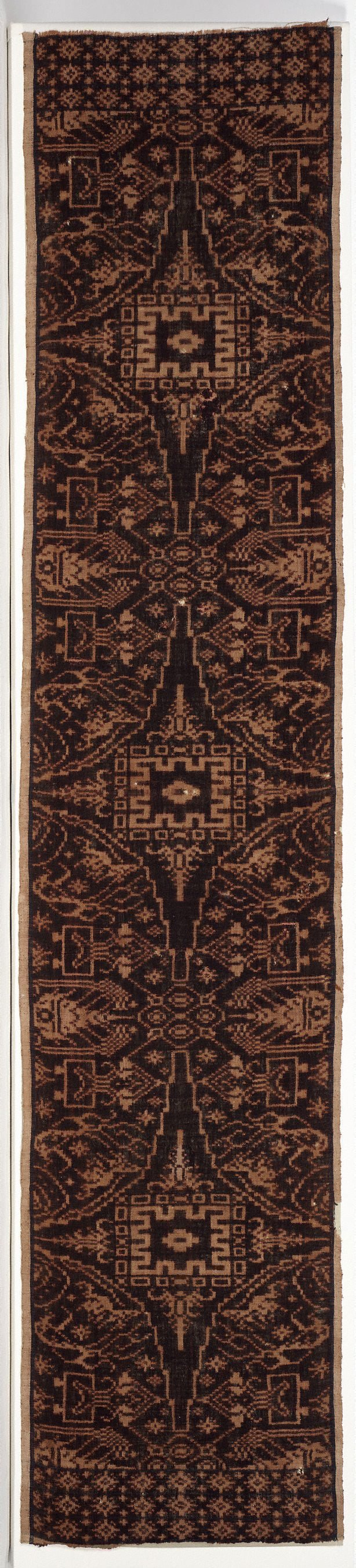 An image of Ceremonial cloth ('kamben geringsing')