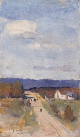 A road to the ranges, (1889) by Arthur Streeton