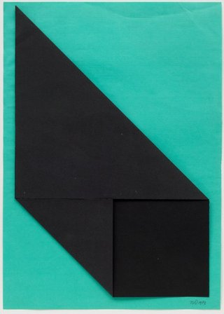 AGNSW collection Michael Johnson Two fold homage to a square 1973