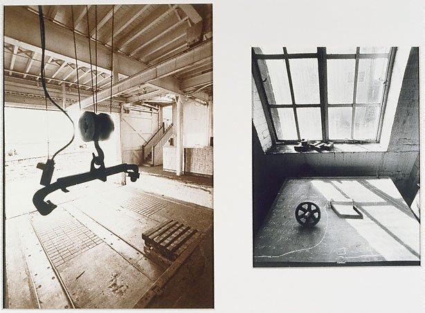 An image of Loading dock, iron locker