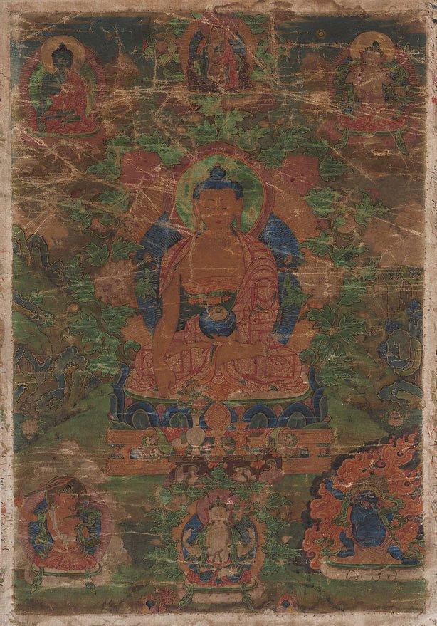 An image of Shakyamuni Buddha