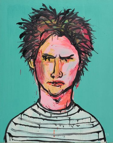 John Travers, (2003) by Adam Cullen