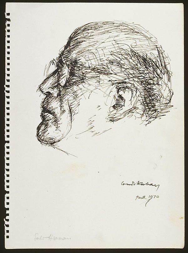 An image of Sali Herman (head)