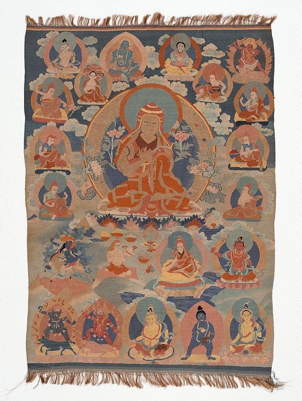 An image of Tibetan master Kesi