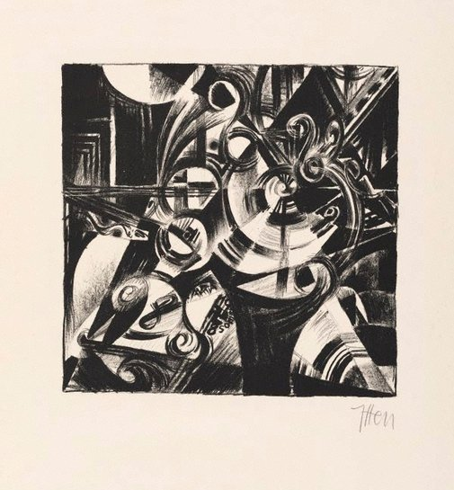 An image of Composition by Johannes Itten