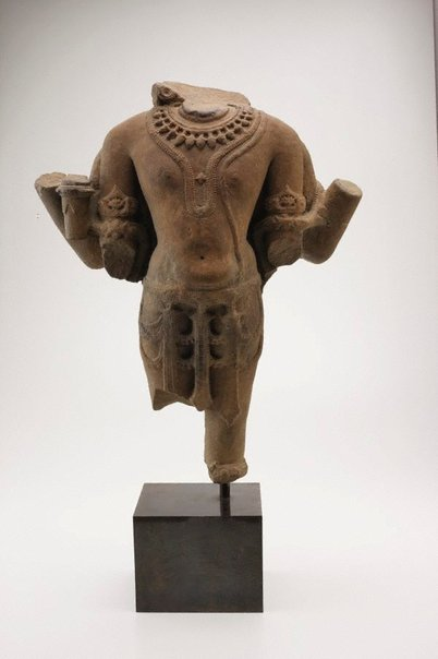 An image of Torso of Vishnu by