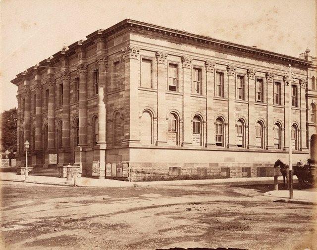 An image of Royal Exchange offices, Bridge street, Sydney