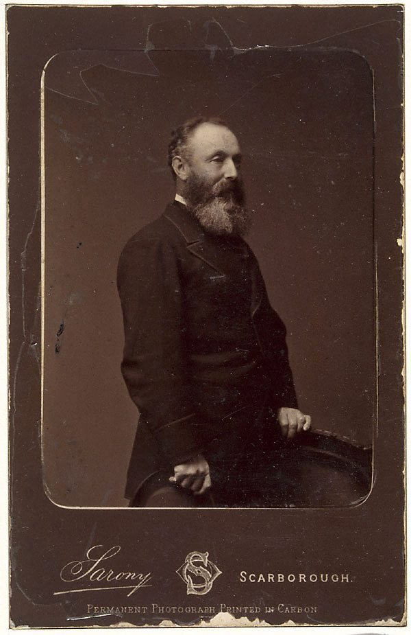 An image of Untitled (portrait of a gentleman in a frock coat)