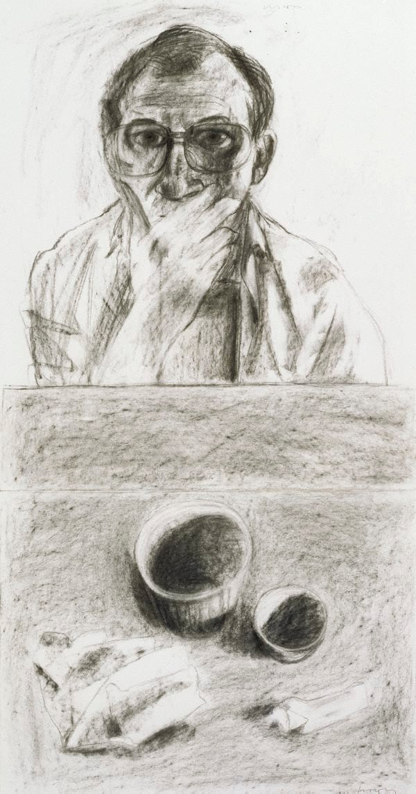 An image of Self portrait and still life