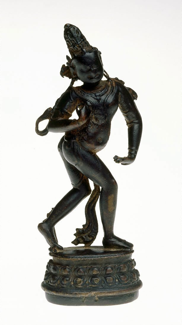 An image of Shani, personification of the planet Saturn