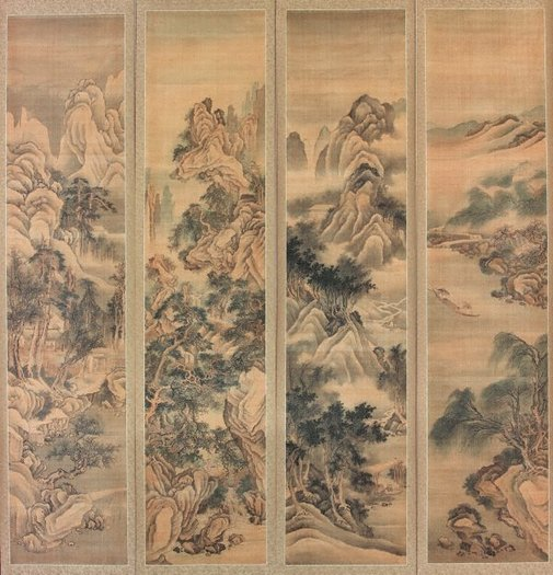 An image of Landscape of four seasons by Fang Cong