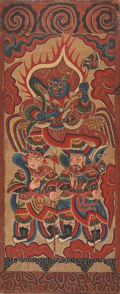 An image of Marshal Deng (Deng Yuanshuai) by Yao people