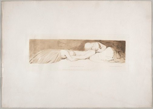 An image of Comfort the Afflicted by Frederick Christian Lewis, after John Flaxman