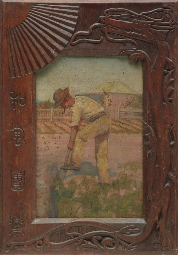 An image of The market gardener