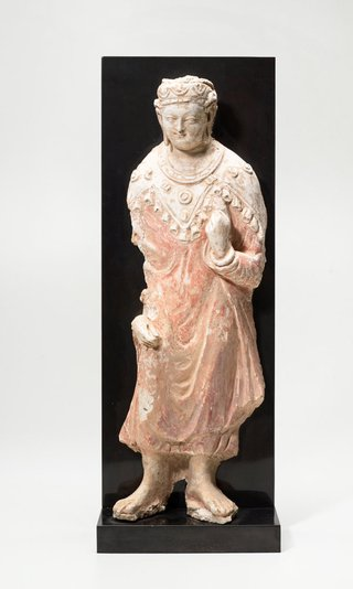 AGNSW collection Figure of Buddha 6th century-7th century