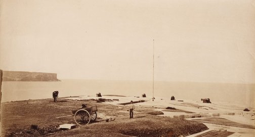 An image of Georges Head Battery by Charles Bayliss