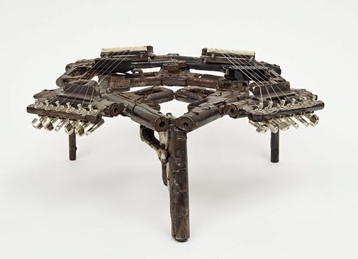An image of Disarm (Double psaltery II) by Pedro Reyes