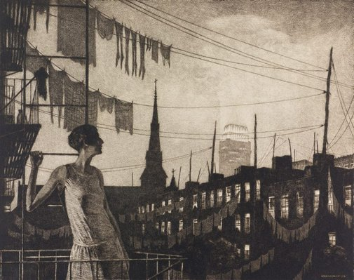An image of Glow of the city by Martin Lewis